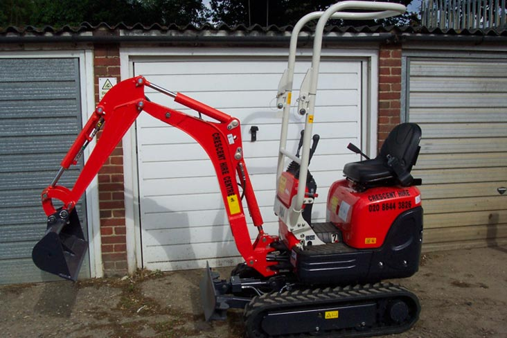 Mini Digger Hire - How to Select the Correct Model