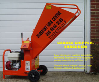 Garden Chipper Shredder
